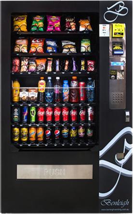 snack & drink vending machines